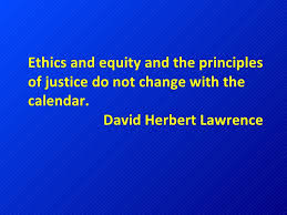 Ethics DH Lawrence