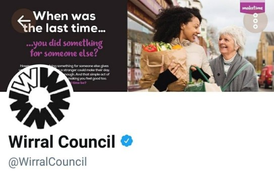 Wirral Council Twitter