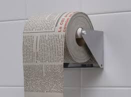 Newspaper loo