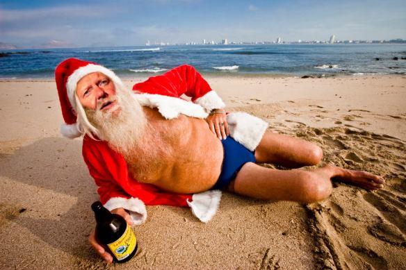Sad sack Santa