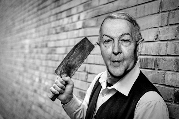 Frank meat cleaver
