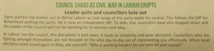 Green Party leaflet 001