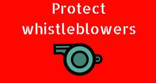 Protect whistleblowers