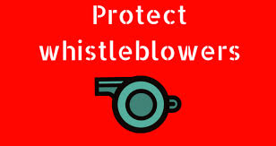 Protect whistleblowers