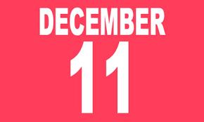 December 11